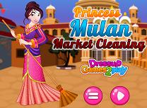 Printesa Mulan Curatenie in Piata
