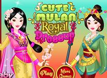 Printesa Mulan Tinuta Regala