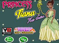Printesa Tiana la Coafor