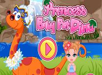 Printesa si Dinozaurul