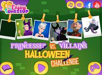 Printese si Personaje Negative de Halloween