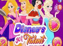 Printesele Disney Au Talent