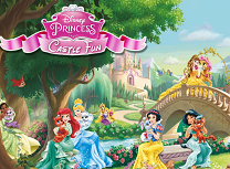 Printesele Disney Distractie la Castel