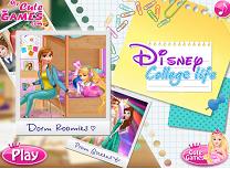 Printesele Disney Viata de Facultate
