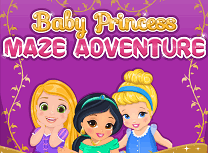 Printesele Disney in Labirint