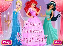 Printesele Disney la Balul Regal