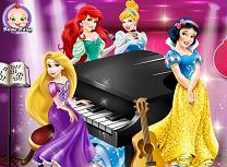 Printesele Disney la Muzica