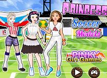 Printesele Modele la Fotbal