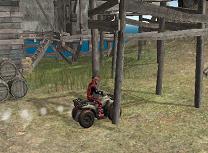 Provocari cu ATV-ul pe Plaja