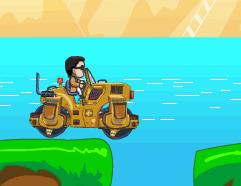 Psy cu Buldozerul