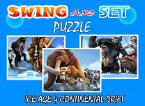 Puzzle cu Ice Age 4