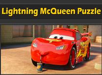 Puzzle Fulger McQueen
