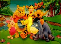 Puzzle cu Winnie the Pooh