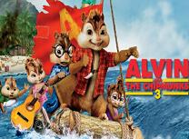 Puzzle cu Alvin si Veveritele