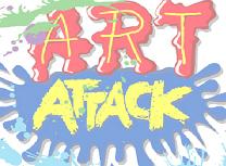 Puzzle cu Art Attack