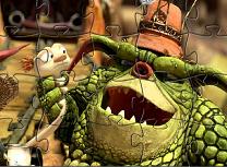 Puzzle cu Bottersnikes si Gumbles