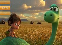 Puzzle cu Bunul Dinozaur