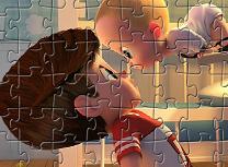 Puzzle cu Cine-i Sef Acasa