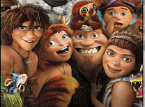 Puzzle cu Dawn of The Croods