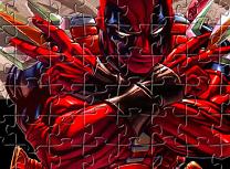 Puzzle cu Deadpool
