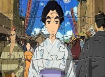 Puzzle cu Domnisoara Hokusai