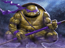 Puzzle cu Donatello