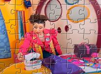 Puzzle cu Doris