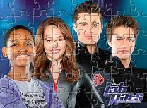 Puzzle cu Eroii Bionici