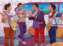 Puzzle cu Expresul Junior