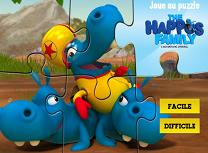 Puzzle cu Familia Happo