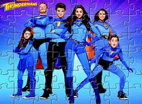 Puzzle cu Familia Thunderman