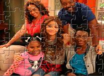 Puzzle cu Familia lui K. C.