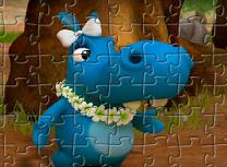 Puzzle cu Fetita Familiei Happos