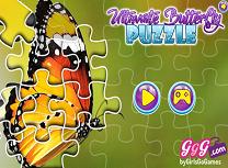 Puzzle cu Fluturi
