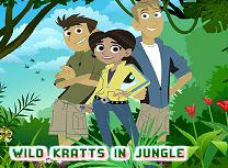 Puzzle cu Fratii Kratt In Jungla