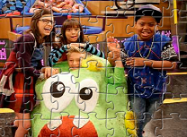Puzzle cu Game Shakers