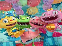 Puzzle cu Henry Dragomonstrul