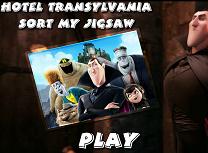 Puzzle cu Hotel Transylvania