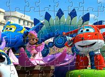 Puzzle cu Jett si Prietenii