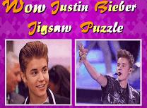 Puzzle cu Justin Bieber