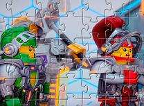 Puzzle cu Lego Cavalerii Nexo