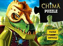 Puzzle cu Lego Chima