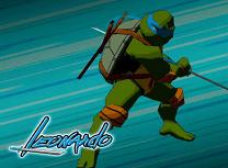 Puzzle cu Leonardo