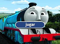 Puzzle cu Locomotiva Thomas