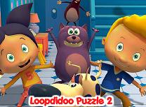 Puzzle cu Loopdidoo si Prietenii