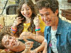 Puzzle cu Luna si Prietenii