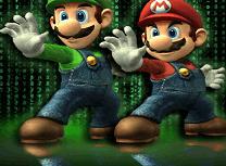 Puzzle cu Mario si Luigi