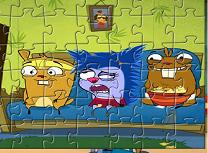 Puzzle cu Marmote