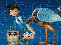 Puzzle cu Miles si Merc