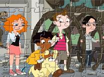 Puzzle cu Milo Murphy si Prietenii